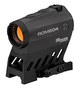 Sig-Sauer-Romeo-4B-1X20-MM-2-MOA-Red-Dot-65-MOA-Circle-Dot-Battery-Powered-with-Low-Profile-Torx-Mount-0